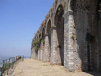 Terracina - Cryptoporticus of the Sanctuary.