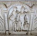 Sarcofago 62 di venere e marte in un'edicola tra i dioscuri (200-250 ca.), 02.JPG