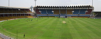2015 Indian Premier League - Image: Sardar Patel Gujarat Stadium Ahmedabad