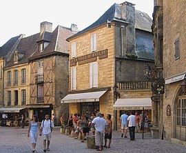 Sarlat old city