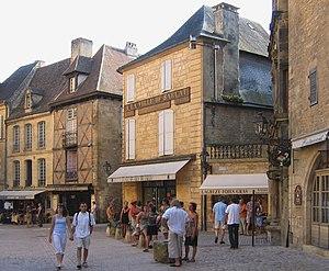 Sarlat-la-Canéda - Image: Sarlat la Canéda Place