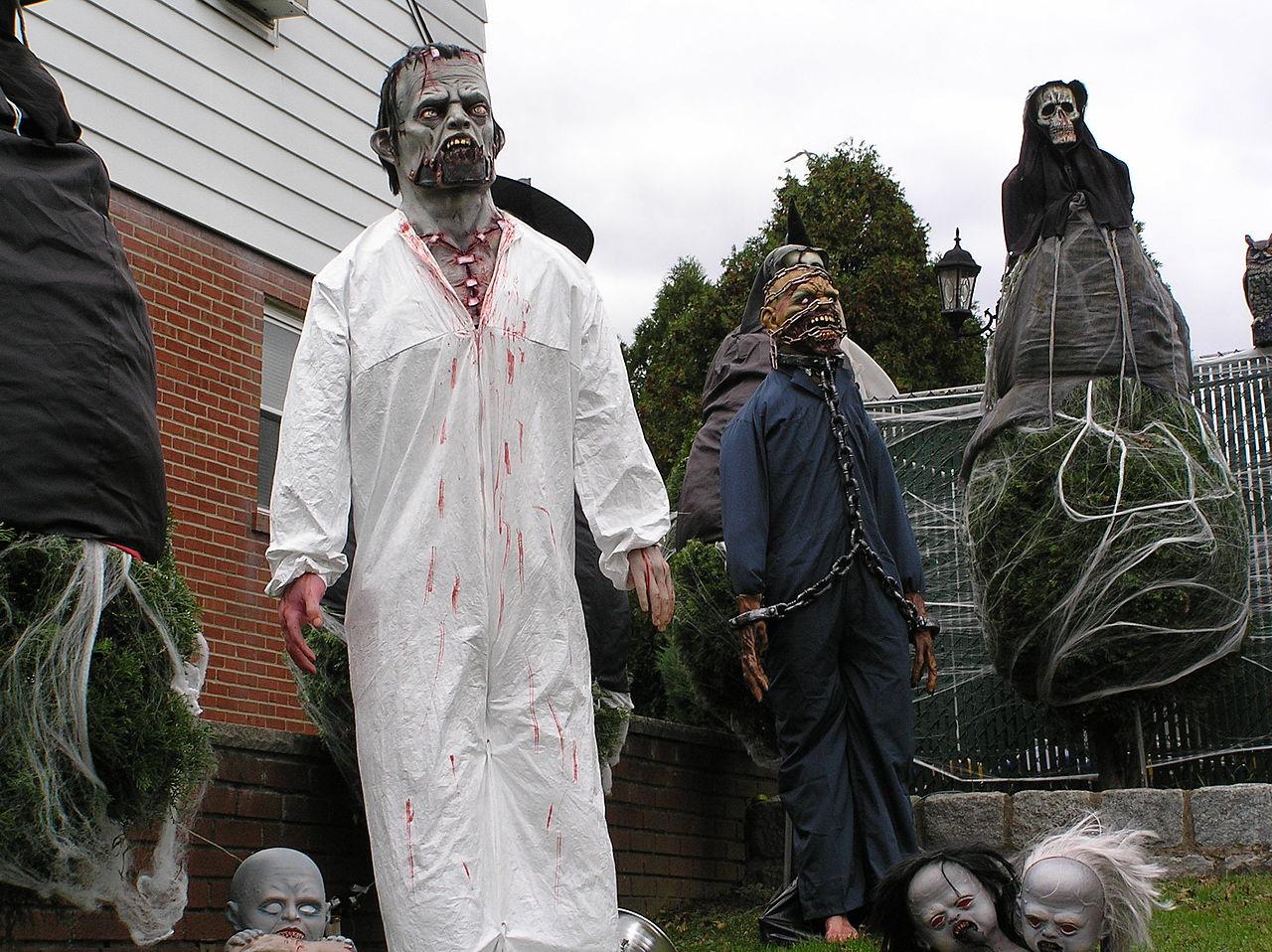Halloween Outdoor Home Decor