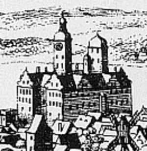 Wolgast - Palace, 1652