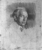 Richard Strauss engraved by Ferdinand Schmutzer (1922) (Source: Wikimedia)