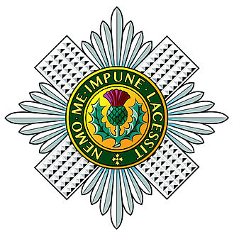 Scots Guards - Image: Scots Guards Badge