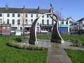 Sculpture, Castlederg - geograph.org.uk - 371670.jpg