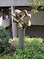 Sculpture at front of Penelope and Harry Seidler House.jpg