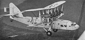 Short L.17 Scylla, photographié en avril 1934.