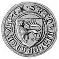 Seal Bertoldus Bredenvlet 1375.jpg