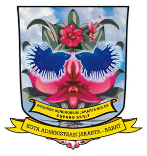 Jakarta Outer Ring Road - Image: Seal of West Jakarta