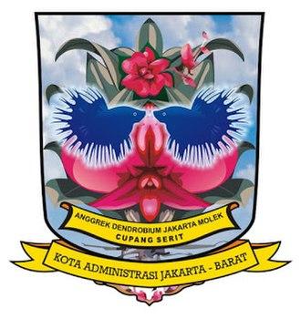West Jakarta - Image: Seal of West Jakarta