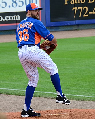 Sean Gilmartin - Gilmartin with the Mets in 2015