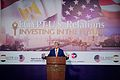 Secretary Kerry Addresses U.S., Egyptian Business Leaders at American Chamber of Commerce Breakfast in Sharm el-Sheikh - 16775455526.jpg