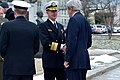 Secretary Kerry Is Greeted by Vice Admiral Carter Before Giving a Speech at the U.S. Naval Academy in Annapolis (31423632553).jpg