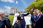 Secretary Kerry Stands at the Hiroshima Peace Memorial as He and His G7 Counterparts Visit the Site (26337552036).jpg