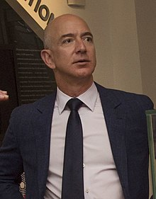 Secretary of Defense Ash Carter meets with Jeff Bezos, May 5, 2016 (1) (cropped).jpg
