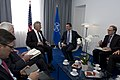Secretary of Defense Chuck Hagel meets with Secretary General Anders Fogh Rasmussen at NATO in Brussels.jpg
