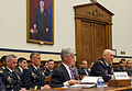 Secretary of the U.S. Army John McHugh, foreground left, and Chief of Staff of the Army Gen. Raymond T. Odierno, foreground right, testify before the House Armed Services Committee about the Army posture and 130425-A-AO884-020.jpg