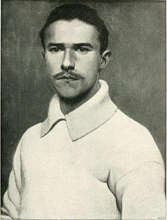 Bautzen - Hans Unger self-portrait