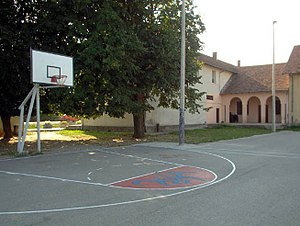 Moravac - Image: Selo Moravac igraliste