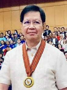 Senator Ping Lacson at the 110th Charter Anniversary of Baguio City, September 1, 2019.jpg