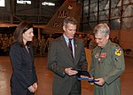 Senators Scott Brown and Kelly Ayotte award Lieutenant Colonel Joseph Daley the Meritorious Service Medal and a Retirement certificate.jpg