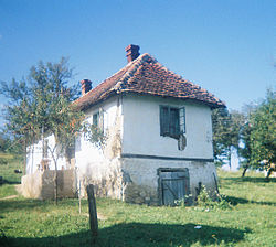 Old country house in Donja Badanja