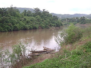 Sepon River - The Sepon River at Lao Bảo, Vietnam
