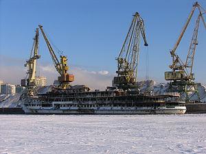 Sergey Abramov in North River Port 31-jan-2012 03.JPG