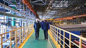 Seversky Pipe Plant - Image: Seversky trubnyi zavod Medvedev