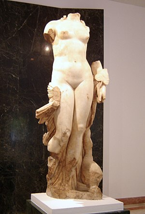 Italica - The 2nd-century Venus found in 1940 near the theatre (Archeological Museum of Seville).