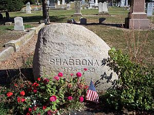 Shabbona - Chief Shabbona's Grave Site near Morris, IL