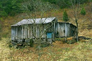 Shack - A large shack near Pigeon Forge, Tennessee