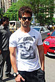 Shahid and Priyanka promote 'Teri Meri Kahaani' at Cocoberry 08.jpg