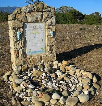 Shalawa Meadow, California - Monument 7/11/09