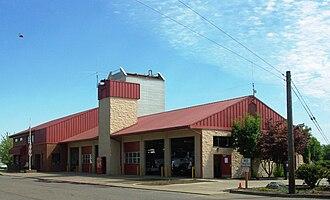 Sheridan, Oregon - Sheridan's fire station
