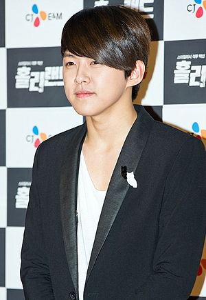Shin Dong-ho - Image: Shin Dongho (U KISS) from acrofan