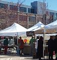 Ship Street Farmers' Market in front of Brown Alpert Medical School.jpg
