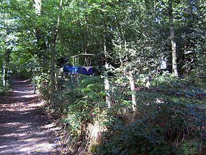 Shipley Glen Tramway - Tram and tracks