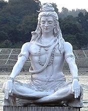 Shiva meditating Rishikesh