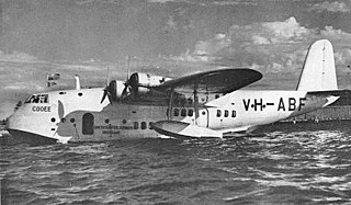 Flying boat Aircraft equipped with a boat hull for operation from water