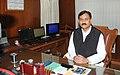 Shri Bharatsinh Solanki taking the charge as Minister of State for Railways, in New Delhi on January 21, 2011.jpg