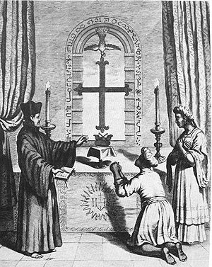 Roman Catholic Diocese of Saint Thomas of Mylapore - Shrine of Saint Thomas in Meliapore, 18th century print.