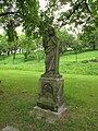 Siřejovice, socha u hřbitova.JPG