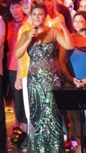 Sibel Can - Sibel Can performing in 2011 in Side (Antalya province), Turkey