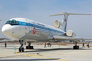 2004 Russian aircraft bombings - Image: Siberia Airlines Tupolev Tu 154M Zherdin
