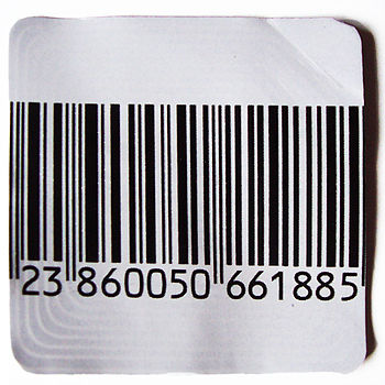 security bar code label, Electronic article su...