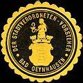Siegelmarke Der Stadtverordneten - Vorsteher - Bad Oeynhausen W0212792.jpg