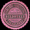 Siegelmarke Gemeinde-Vorstehung Bildstein - Vorarlberg W0261672.jpg