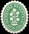 Siegelmarke Gemeinde Rosenthal - Amtshauptmannschaft Pirna W0252796.jpg